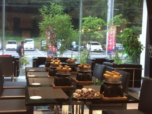 いわき湯本温泉こいと旅館で食べるお釜ごはん
