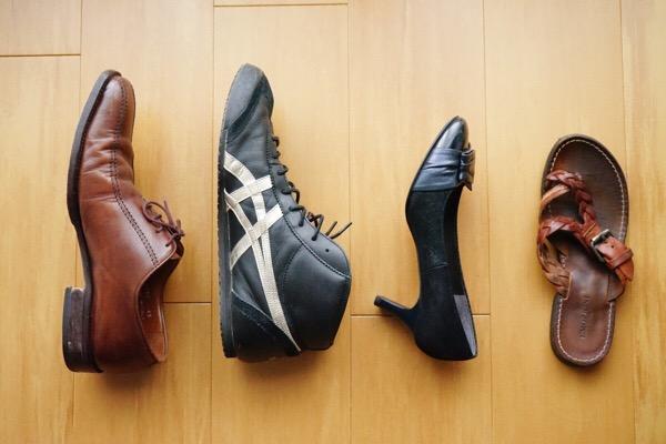 カビた靴の手入れ