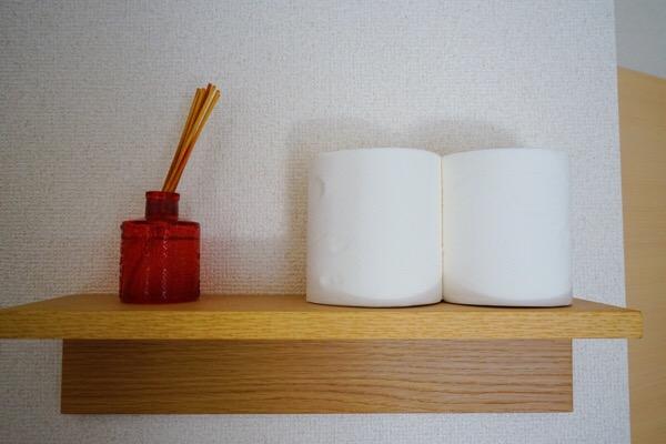 無印良品壁に付けられる家具 トイレ