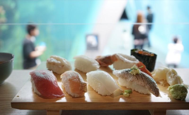 アクアマリンふくしまのお寿司