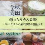 パルシステムの米や野菜の値段は?買ったもの大公開!