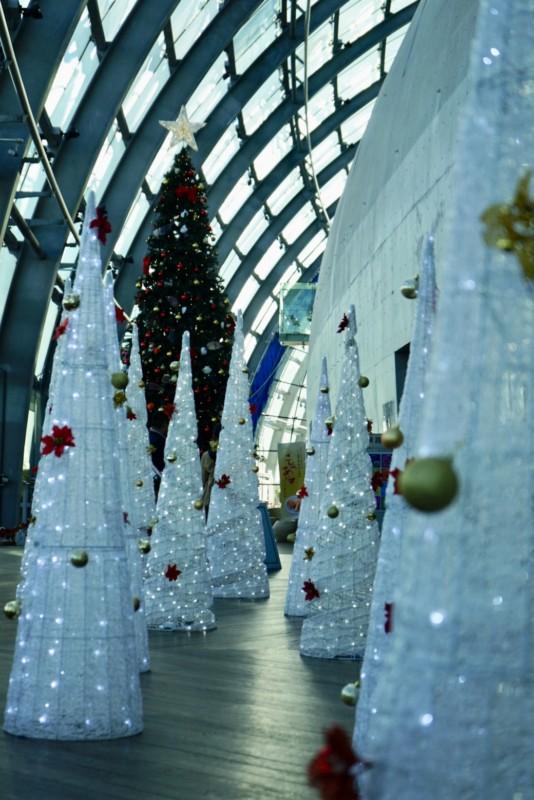 アクアマリンふくしま2017年クリスマスツリー