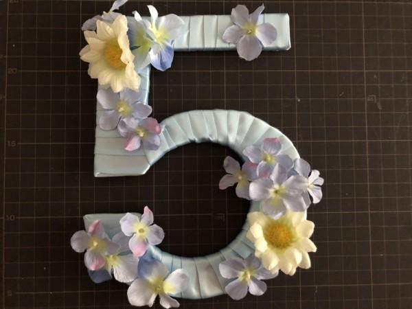 花をバランスよくつける