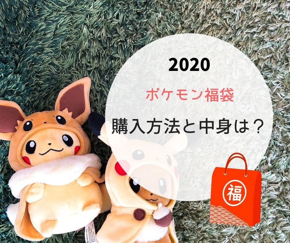 ポケモン福袋2020年版。購入方法と中身は?