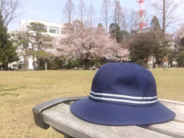 幼稚園の帽子