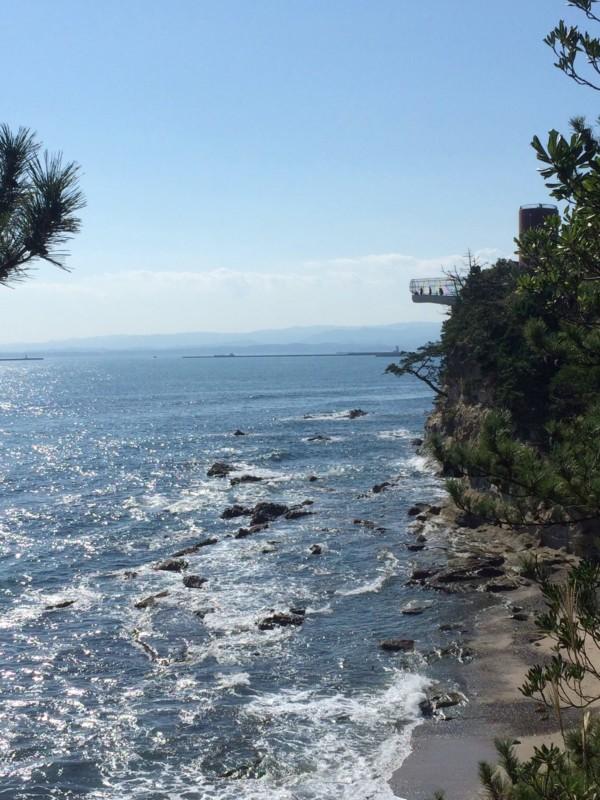 三崎公園の潮見台