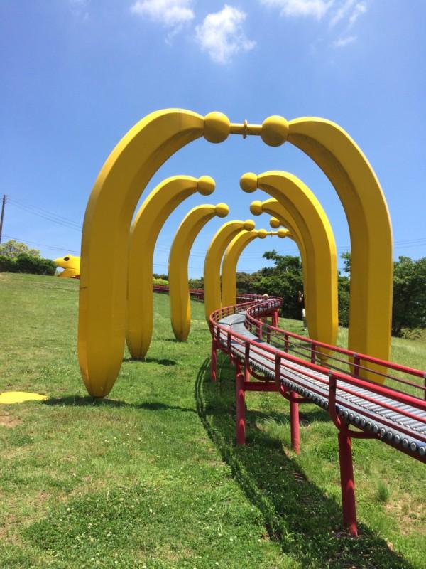 三崎公園のローラー滑り台