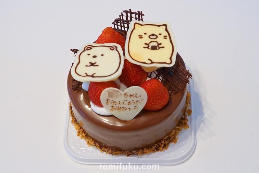 すみっコぐらし誕生日ケーキ
